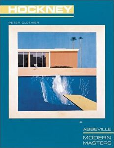 Cover: David Hockney - Modern Masters by Peter Clothier